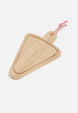Temerity Jones Utility Mini Cheese Board Kitchen Accessories Wood & Rope