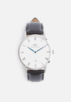 Daniel Wellington Dapper Sheffield Watches Black & Silver