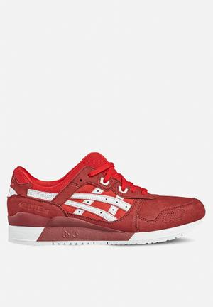 Asics Tiger Gel-Lyte III Sneakers  True Red / White