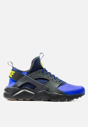 Nike Air Huarache Run Ultra SE Sneakers Anthracite / Paramount Blue