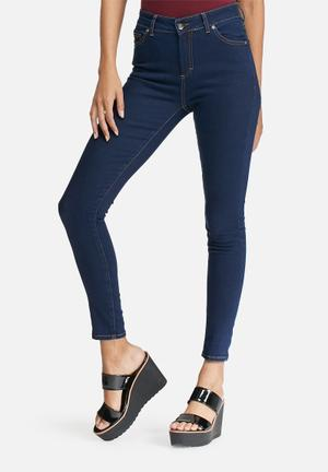 Dailyfriday Mid Rise Skinny Jeans Blue