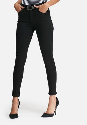 Dailyfriday Mid Rise Skinny Jeans Black