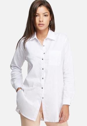 Dailyfriday Cotton Poplin Shirt White