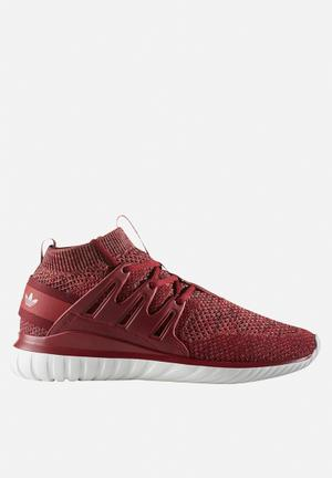 Adidas Originals Tubular Nova Primeknit Sneakers Mystery Red / Collegiate Burgundy / Trace Brown