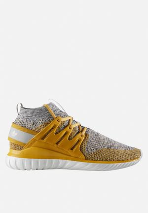 Adidas Originals Tubular Nova Primeknit Sneakers St Nomad Yellow / Clear Granite / Granite