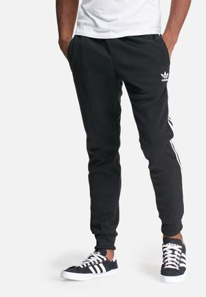 Adidas Originals Superstar Slim Track Pant Sweatpants & Shorts Black & White
