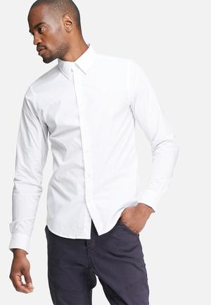 G-Star RAW Core Slim Shirt  White