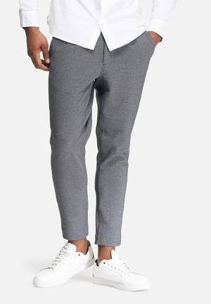 Jack & Jones Premium Simon Slim Fit Trouser Pants Grey Melange