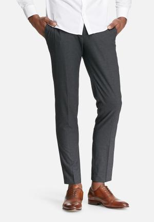 Jack & Jones Premium Sigurd Slim Fit Trouser Pants Charcoal