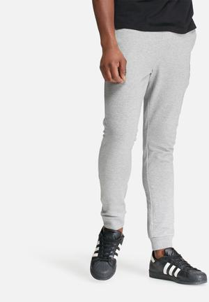 Jack & Jones CORE Identity Tight Fit Joggers Sweatpants & Shorts Grey Melange