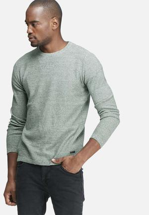 Only & Sons Sam Crew Knit Knitwear Green