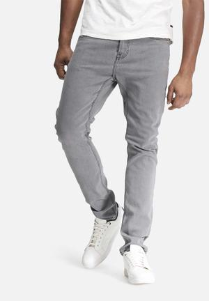 Only & Sons Camp Skinny Jeans Grey