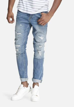 Only & Sons Loom Slim Fit Jeans Light Blue