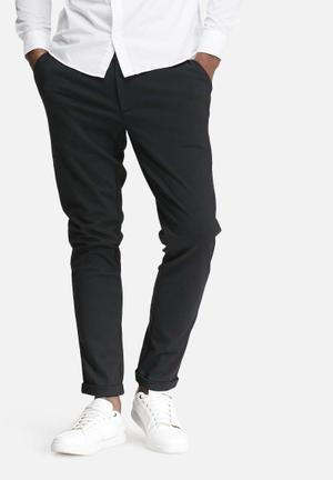 Only & Sons Solid Chino  Black