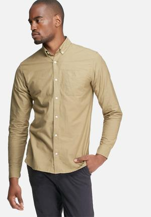 Jack & Jones Premium David Slim Shirt Beige
