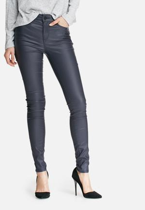 VILA Commit New Coated Jeans Navy
