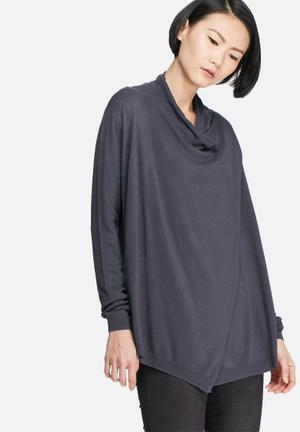 VILA Josa Knit Knitwear Blue