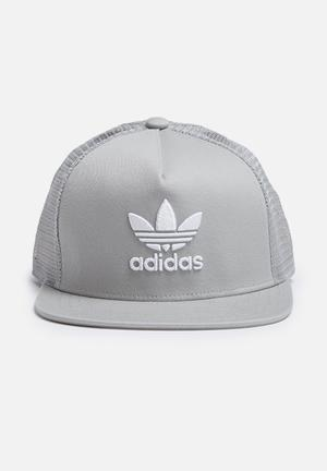 Adidas Originals Trefoil Trucker Headwear Grey