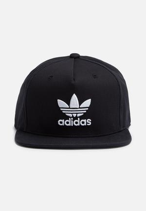 Adidas Originals Trefoil Snapback Cap Headwear Black & White