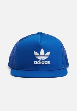 Adidas Originals Trefoil Trucker Headwear Blue