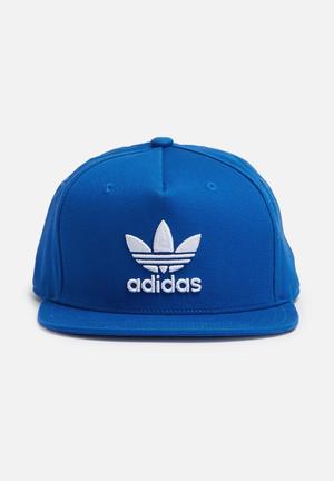 Adidas Originals Trefoil Snapback Cap Headwear Blue