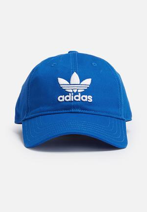 Adidas Originals Trefoil Adjustable Cap Headwear Blue