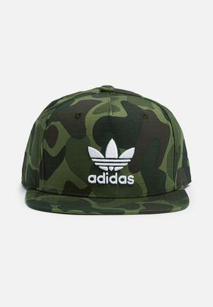 Adidas Originals Baseball Cap Camo Headwear Green Camo