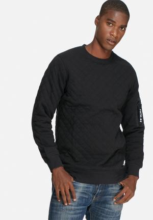 Jack & Jones CORE Zobel Crew Sweat Hoodies & Sweatshirts Black