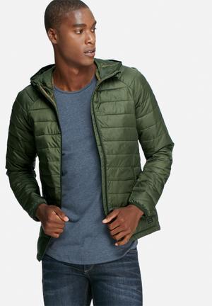 PRODUKT Kai Puffer Jacket Green