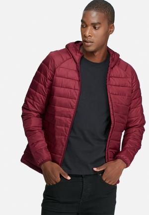 PRODUKT Kai Puffer Jacket Red