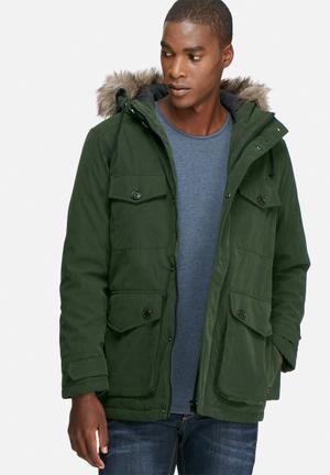 PRODUKT Harvey Parka Jacket Green