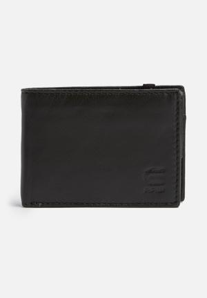 G-Star RAW Cart Leather Wallet Grey