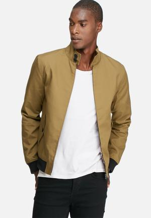 Only & Sons Odger Harrington Jackets Bronze