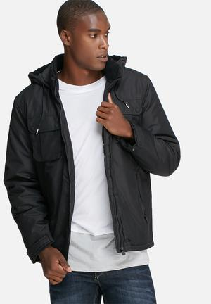 Only & Sons Lake Jacket Black