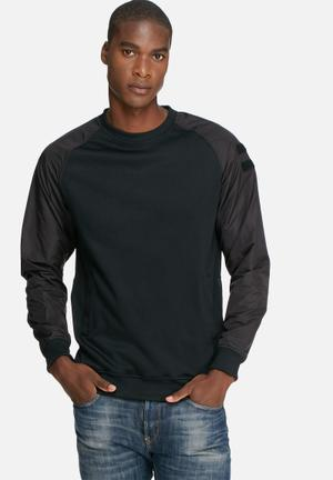 Only & Sons Olly Crew Sweat Hoodies & Sweatshirts Black