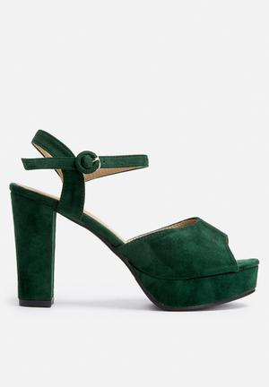 Dailyfriday Victoria Heels Emerald Green