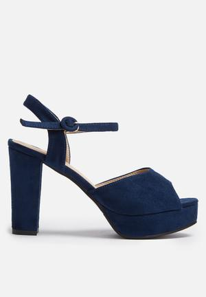Dailyfriday Victoria Heels Navy