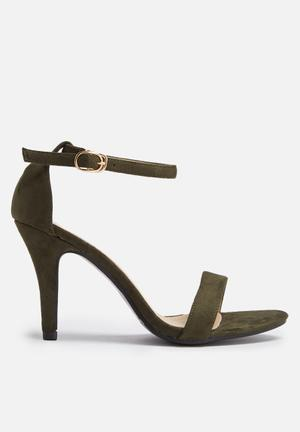 Dailyfriday Daria Heels Olive Green