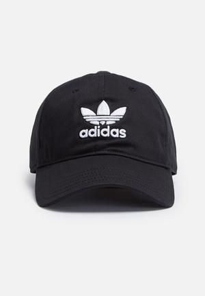 Adidas Originals Trefoil Adjustable Cap Headwear Black & White