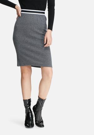 Glamorous Bodycon Skirt Charcoal
