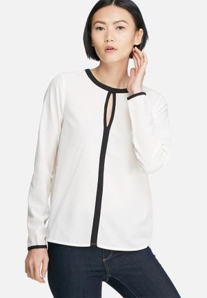 Vero Moda Illy Blouse Cream & Black