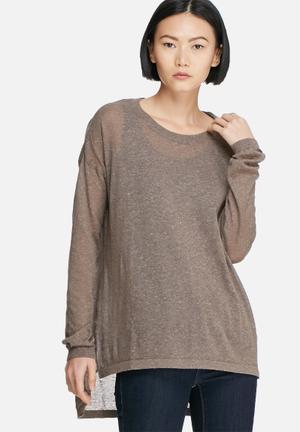 Vero Moda Altha Knit Knitwear Brown