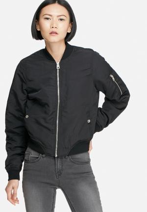 Vero Moda Dicte Bomber Jacket Black