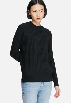 Vero Moda Svea Knit Knitwear Black