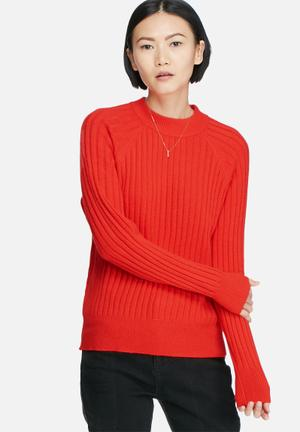 Vero Moda Svea Knit Knitwear Red