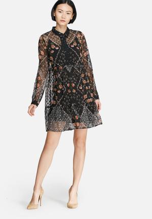 Vero Moda Lucydob Dress Casual Black