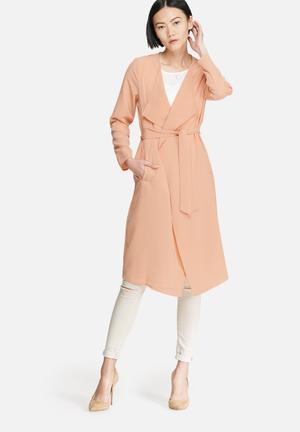 Vero Moda Maggie Lightweight Coat Peach