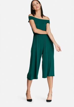 Dailyfriday Culotte Jumpsuit Green