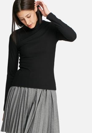 ONLY Turtleneck Top T-Shirts, Vests & Camis Black