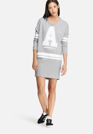 ONLY Baby Dress Casual Grey & White